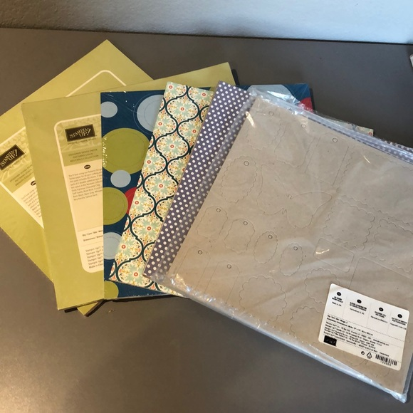 Stampin UP! 12x12 DSP